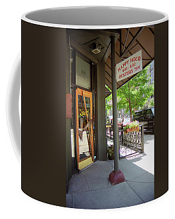 Coffee Mug featuring the photograph Denver Happy Hour by Frank Romeo