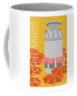 Denver Highlands/gold Coffee Mug