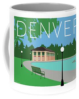 Denver Washington Park/blue Coffee Mug