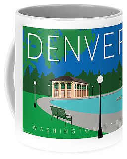 Denver Washington Park Coffee Mug