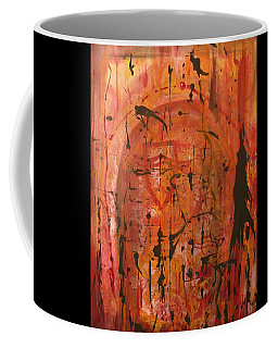 Departing Abstract Coffee Mug