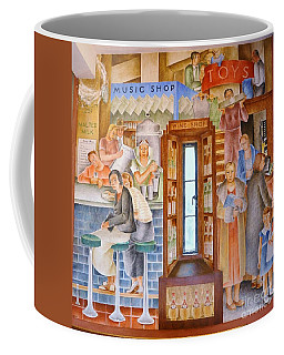 Department  Store Coffee Mug by Pg Reproductions