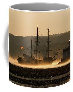 Departure Of El Galeon I Coffee Mug