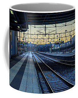 Departure Coffee Mug