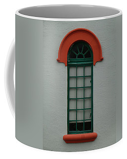 Depot Window Four Coffee Mug