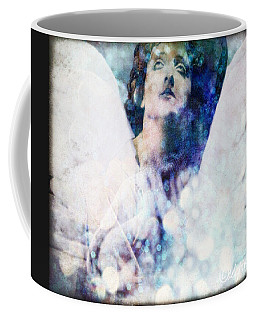 Coffee Mug featuring the digital art Depression Angel by Delight Worthyn