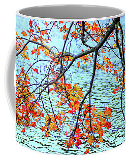 Coffee Mug featuring the photograph der Oktober by Expressive Landscapes Fine Art Photography by Thom