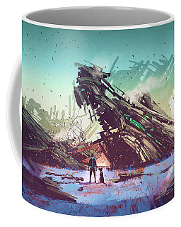 Derelict Ship Coffee Mug