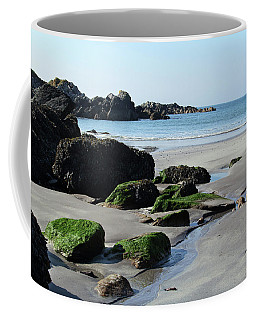 Derrynane Beach Coffee Mug by Marie Leslie