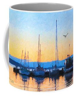 Derwent River Sunset Coffee Mug