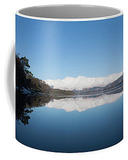 Derwentwater Winter Reflection Coffee Mug