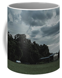 Desaturated Barn Coffee Mug