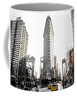 Coffee Mug featuring the photograph Desaturated New York by Nicklas Gustafsson