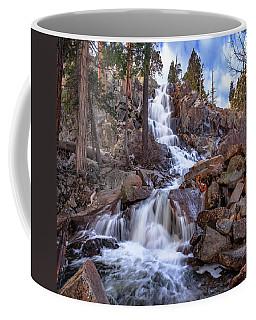 Descent At Eagle Falls Coffee Mug