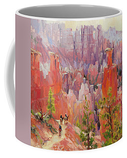 Descent Into Bryce Coffee Mug