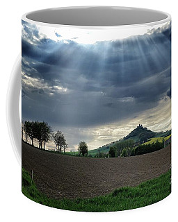 Desenberg Castle Ruins Under The Sunbeams Coffee Mug
