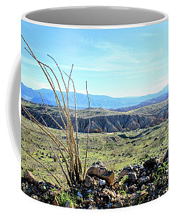 Coffee Mug featuring the photograph Desert After The Rains by Michelle Joseph-Long