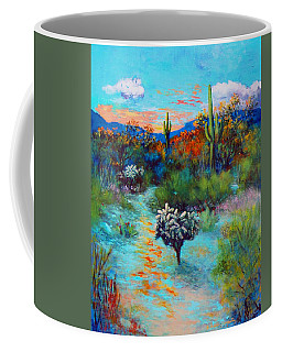 Desert At Dusk Coffee Mug