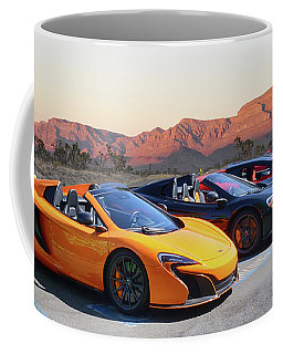 Coffee Mug featuring the photograph Desert Blossoms by Bill Dutting