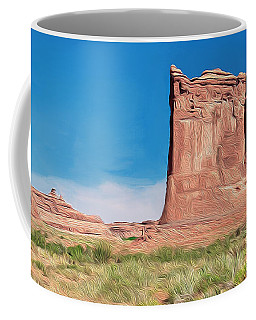 desert Butte Coffee Mug by Walter Colvin