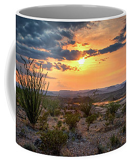 Big Bend Desert Glow II Coffee Mug