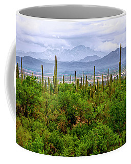 Desert Green Coffee Mug