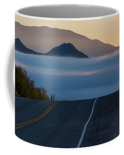 Desert Inversion Highway Coffee Mug