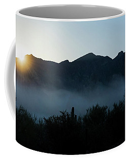 Desert Inversion Sunrise Coffee Mug