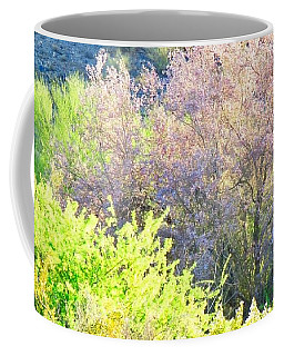 Desert Ironwood Tree In Bloom Coffee Mug