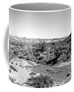 Desert Landscape - Arches National Park Moab, Utah Coffee Mug