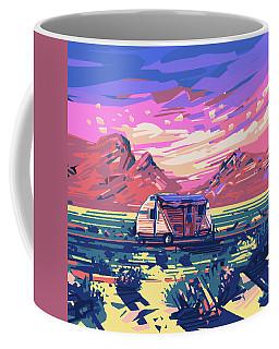 Desert Landscape Coffee Mug by Bekim Art