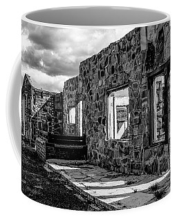Desert Lodge Bw Coffee Mug