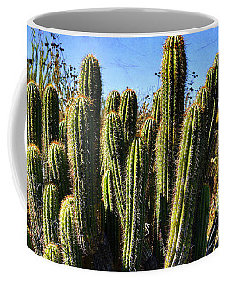 Desert Plants - The Wild Bunch Coffee Mug by Glenn McCarthy