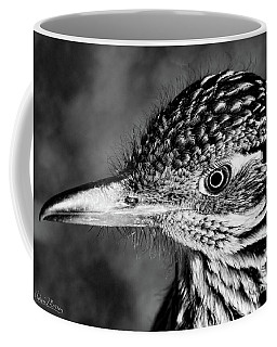 Desert Predator, Black And White Coffee Mug