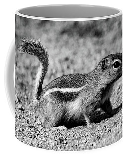 Scavenger, Black And White Coffee Mug