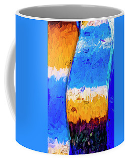 Coffee Mug featuring the photograph Desert Sky 3 by Paul Wear