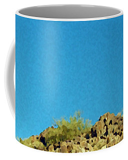 Desert Sky Coffee Mug by Judi Saunders