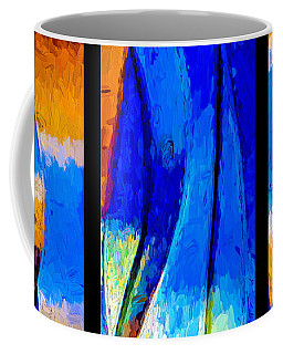Coffee Mug featuring the photograph Desert Sky by Paul Wear