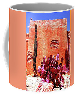 Coffee Mug featuring the photograph Desert Solace by Michelle Dallocchio