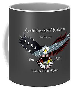 Desert Storm 25th Anniversary Coffee Mug
