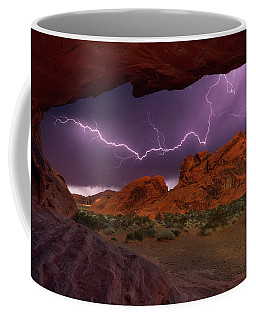 Coffee Mug featuring the photograph Desert Storm by Darren White