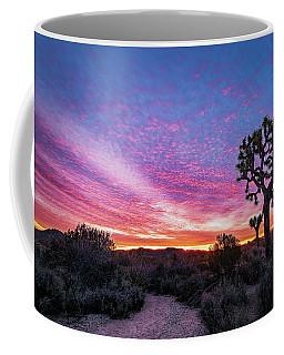 Desert Sunrise At Joshua Tree Coffee Mug