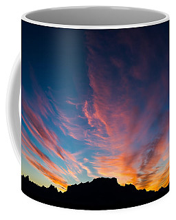 Coffee Mug featuring the photograph Desert Sunrise by Mary Hone
