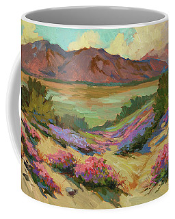 Desert Verbena At Borrego Springs Coffee Mug