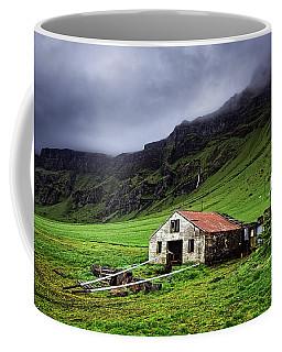 Deserted Barn In Iceland Coffee Mug