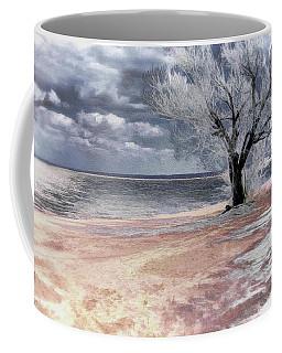 Deserted Beach Coffee Mug by Pennie  McCracken