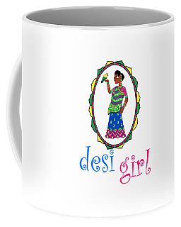 Desi Girl Coffee Mug
