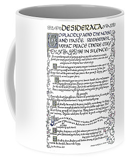 Desiderata-blue Coffee Mug