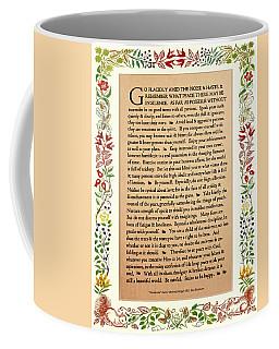 Desiderata Coffee Mug