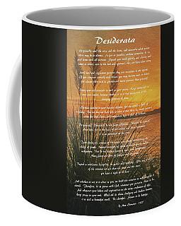 Desiderata - Go Placidly Coffee Mug